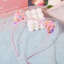 Childrens hairband antiskid with teeth Korean princess cute girl hair accessories wholesale nihaojewelry NHPJ234678