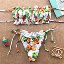 Vente chaude Split Rassembl Bikini Imprimer Sexy Dos Nu Maillot de Bain en gros nihaojewelry NHZO234700