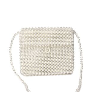 new pearl bag hand-woven crossbody bag wholesale nihaojewelry NHYM234709's discount tags