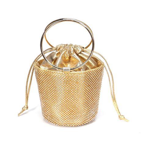 clutch bag new diamond rhinestone banquet bag wholesale nihaojewelry NHYM234712's discount tags