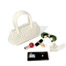 new pearl bag handbag handwoven bag beaded bag wholesale nihaojewelry NHYM234713