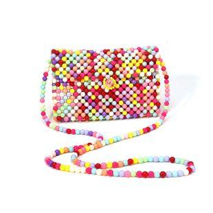 new pearl bag ladies messenger bag mini beaded bag wholesale nihaojewelry NHYM234718's discount tags