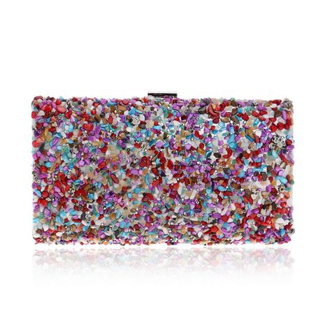new ladies party dress banquet bag clutch bag small square bag wholesale nihaojewelry NHYM234723's discount tags