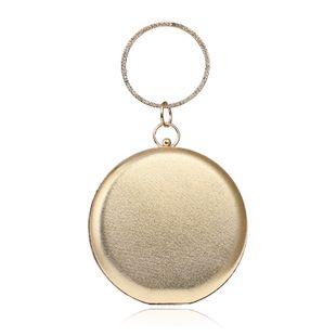 fashion ladies handbags round spherical bag banquet bag wholesale nihaojewelry NHYM234724's discount tags