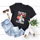 simple cotton comfortable shortsleeved Tshirt dark nasa space series Tshirt  wholesale nihaojewelry NHSN234829