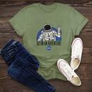 simple cotton comfortable shortsleeved Tshirt dark nasa space series Tshirt  wholesale nihaojewelry NHSN234832
