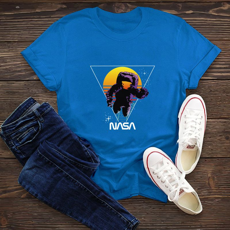 fashion cotton comfortable shortsleeved Tshirt dark nasa space series Tshirt  wholesale nihaojewelry NHSN234838
