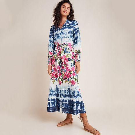 New button shirt cardigan beach sunscreen bikini blouse swimsuit wholesale nihaojewelry NHXW234890's discount tags