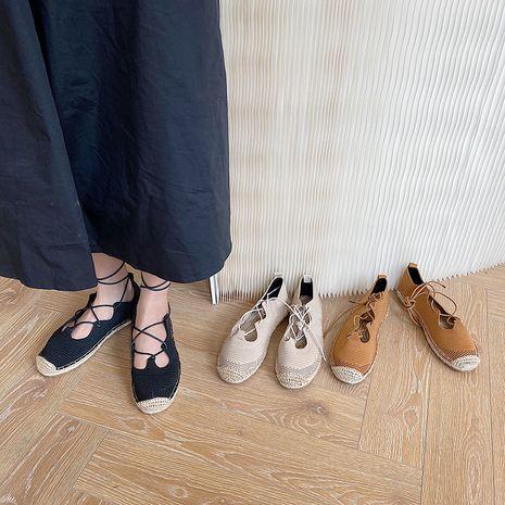 automne coréen nouvelle mode semelle souple chaussures plates chaussures de pêcheur en gros nihaojewelry NHHU234907's discount tags