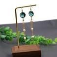 NHOM807834-Style-one-pearl-orchid-crystal-earrings