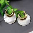 NHOM807837-Model-five-shell-earrings