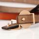 Leather ladies belt Korean dress decoration small belt fashion elegant women's belt wholesale nihaojewelry NHJN234930