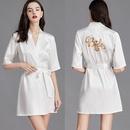 printemps et t peignoirs en soie mariage marie robe pyjama service  domicile en gros nihaojewelry NHJO234950