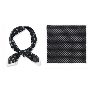 Spring and summer new point scarf Korean simulation silk small square scarf wholesale nihaojewelry NHTZ234973's discount tags