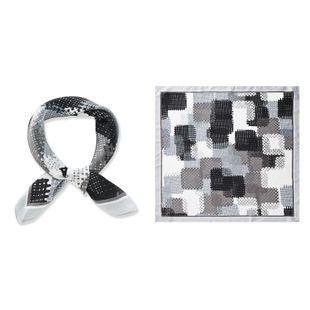 Korean  fashion  new small square scarf female mosaic lattice  scarf  wholesale NHTZ234983's discount tags
