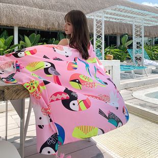 new national style cotton and linen scarf long shawl ladies sunscreen beach towel wholesale nihaojewelry NHTZ234987's discount tags