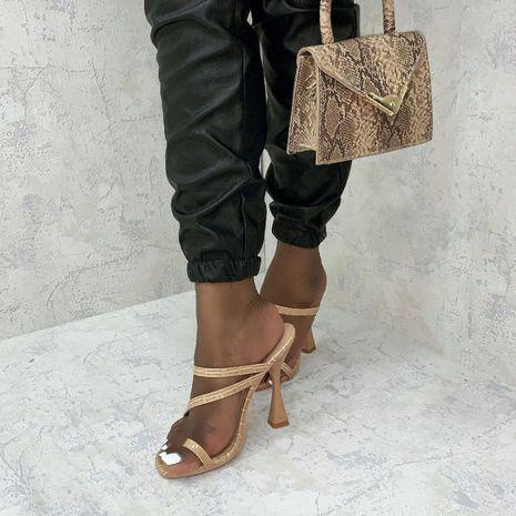 nouvelles chaussures pour femmes avec des talons hauts sandales style décontracté, plus la taille en gros nihaojewelry NHSO235001's discount tags