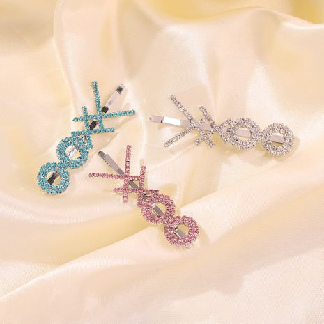 hot sale exaggerated multi-layer interesting hair clip cross-shaped alloy clip wholesale nihaojewelry NHMD235114's discount tags