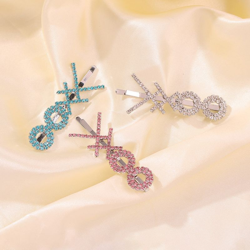 hot sale exaggerated multi-layer interesting hair clip cross-shaped alloy clip wholesale nihaojewelry NHMD235114
