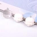 Handmade transparent resin cute doll head diy jewelry earrings material accessories wholesale nihaojewelry NHGO235271