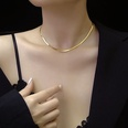 NHOK808262-31+8cm-necklace-gold
