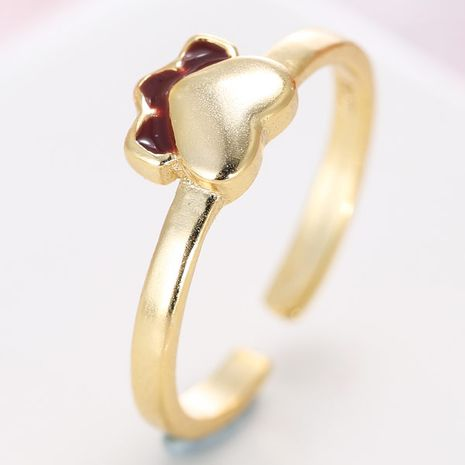 exquisite Korean fashion little feet open ring wholesale nihaojewelry NHSC235426's discount tags