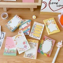 Korean creative cute note book nonsticky tearable note paper hand account diy material wholesale nihaojewelry NHZE235539