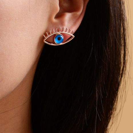 new  fashion exaggerated demon eye earrings ladies street fashion punk style earrings  wholesale   NHOT235655's discount tags