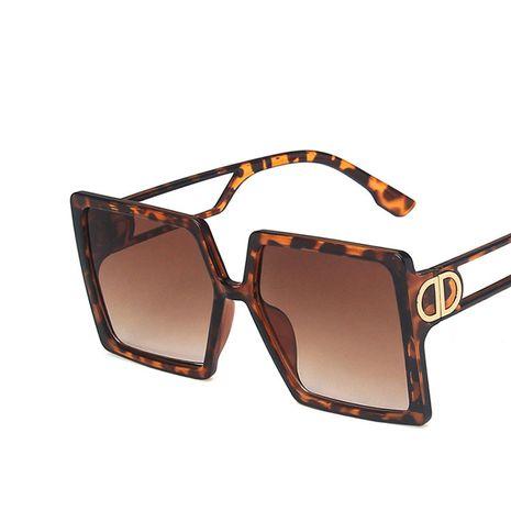 nuevas gafas de sol retro grandes del marco nuevas gafas de sol de la calle de la moda al por mayor nihaojewelry NHKD235518's discount tags