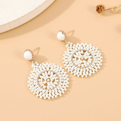 new fashion  wild temperament fashion creative rice pearl earrings nihaojewelry wholesale   NHPS235601's discount tags