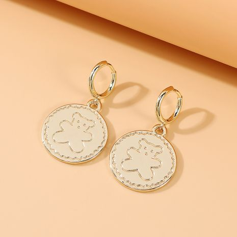 fashion new  French fairy series simple small fresh bear earrings nihaojewelry wholesale  NHPS235603's discount tags