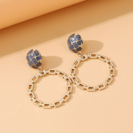 fashion personality creative wild popular trendy  large circle hollow S925 silver needle earrings  nihaojewelry wholesale   NHPS235619's discount tags