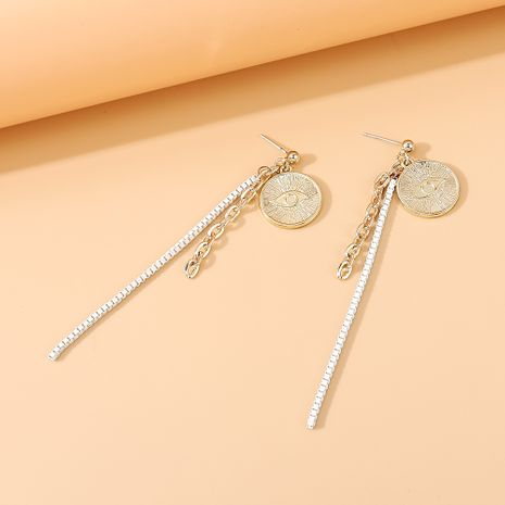 fashion wild personality temperament tassel S925 silver needle earrings nihaojewelry wholesale   NHPS235620's discount tags