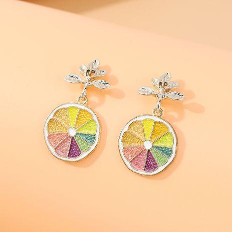Nouvelle mode coréenne petite fraîche petite fée sauvage boucles d'oreilles fruits créatifs nihaojewelry en gros NHPS235621's discount tags