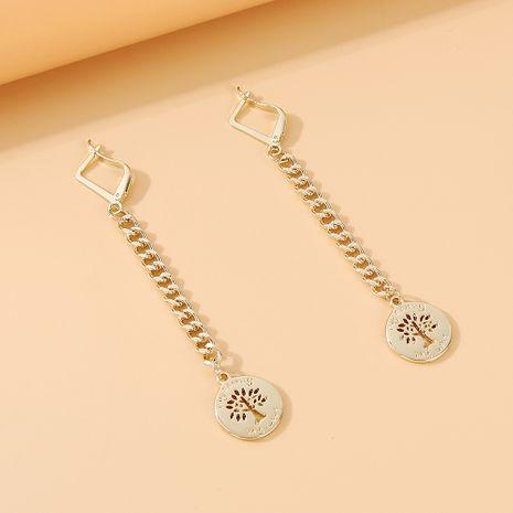 Mode coréenne nouvelle personnalité populaire gland boucles d'oreilles arbre chanceux nihaojewelry en gros NHPS235624's discount tags