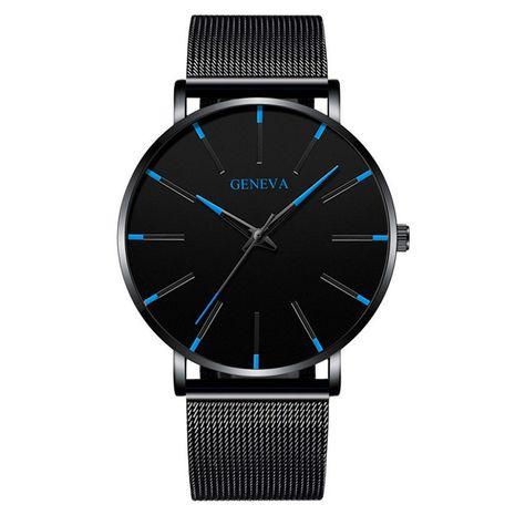 Reloj de negocios para hombres ultrafino simple reloj de correa de malla para hombre casual nihaojewelry al por mayor NHSS235681's discount tags