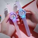 Montre pour enfants lumineux color brillant dessin anim lapin quartz dessin anim montre en gros NHSS235693
