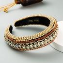 fashion new hair accessories Baroque  full diamond color headband luxury temperament headband nihaojewelry wholesale   NHLN235733