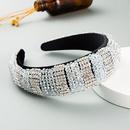 nouvelle mode ponge bandeau or velours tissu strass tiss  la main dames de bal bandeau accessoires de cheveux de luxe nihaojewelry en gros NHLN235743
