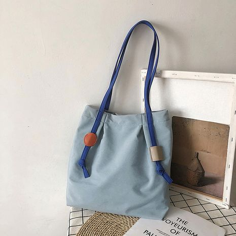 Fashion  new one-shoulder  middle bag college student school bag Korean  wild cross-body handbag wholesale  NHJZ235789's discount tags