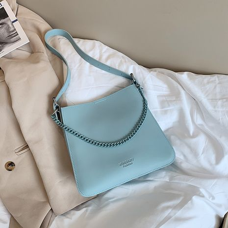 simple new large-capacity bucket bag trendy fashion women's bag all-match shoulder bag underarm bag NHJZ235798's discount tags