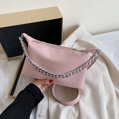 new trendy fashion texture all-match messenger bag one-shoulder french underarm bag wholesale NHJZ235801's discount tags