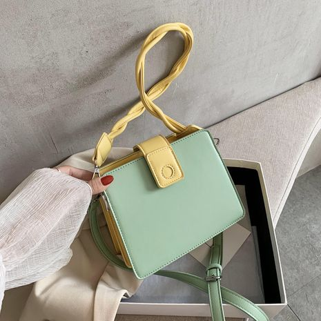 Trend New Women's Bags Shoulder Messenger Bags Fashion All-match Armpit Bags Niche  Color Handbags Small Square Bags NHJZ235808's discount tags