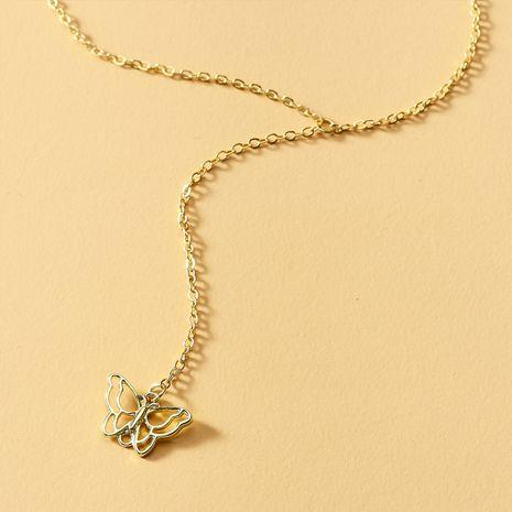 Nouveau collier pendentif arc femme en gros nihaojewelry NHOT235980's discount tags