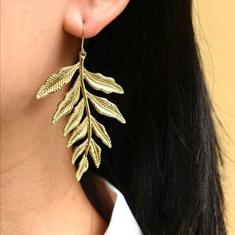 fashion jewelry fashion street style leaf earrings wholesale nihaojewelry NHOT235979's discount tags