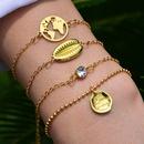 hot sale fashion Bohemian shell bracelet set wholesale nihaojewelry NHOT235977