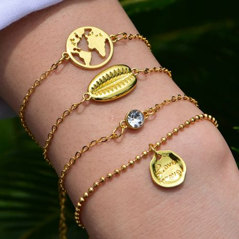 hot sale fashion Bohemian shell bracelet set wholesale nihaojewelry NHOT235977's discount tags