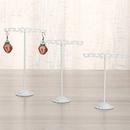 new simple fashion wrought iron balance jewelry rack threepiece earring storage rack jewelry display rack jewelry wholesale  NHAW235871