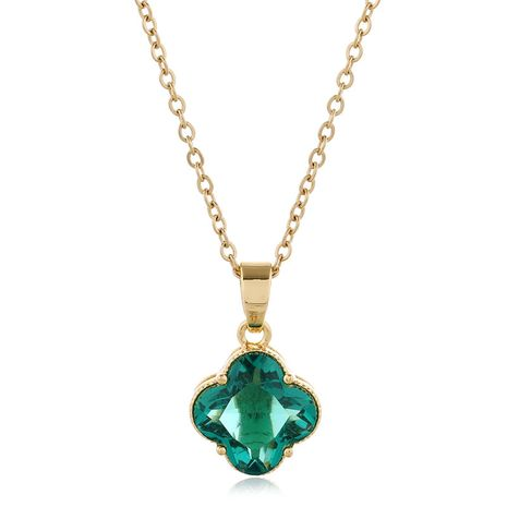 Collier trèfle à quatre feuilles de mode coréenne en gros nihaojewelry NHSC235974's discount tags