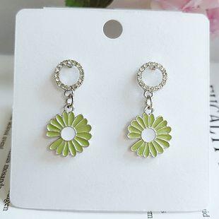mode simple mignon fleur féminité coréenne petite fleur boucles d'oreilles en gros nihaojewelry NHVA230774's discount tags